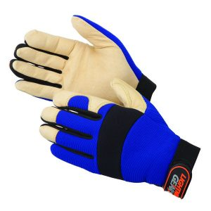 Premium Grain Pig Skin Palm Mechanic Gloves