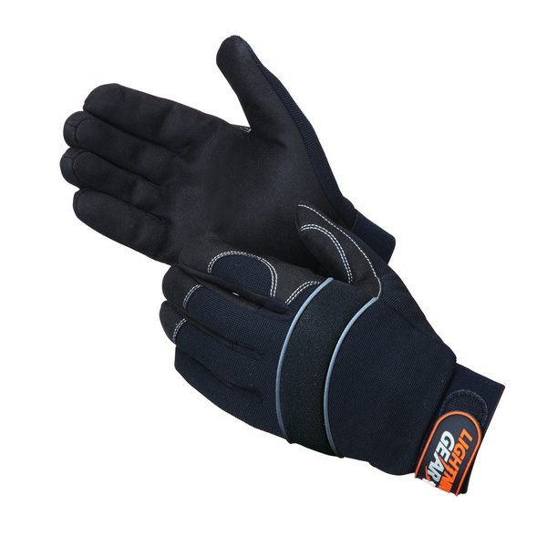 Premium Synthetic Leather Palm Mechanic Gloves