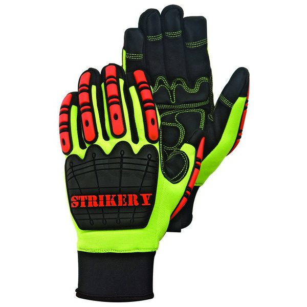 Cold Resistant Premium Synthetic Leather Palm Impact Gloves