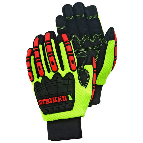 Cold Resistant Premium Synthetic Leather Palm Impact With Waterproof Lining