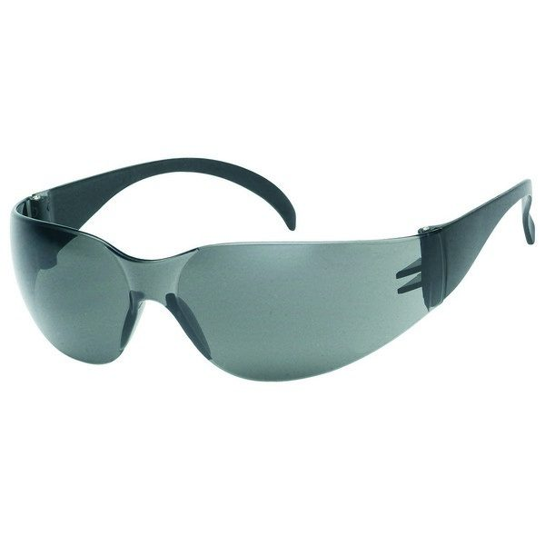 United Glove Gray Lens With Black Frame Safety Glasses