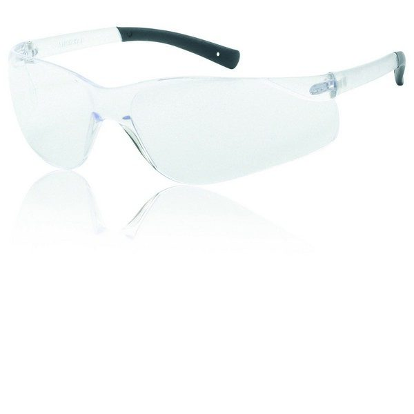 United Glove Clear Lens With Clear Frame Safety Glasses