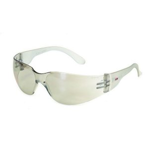 United Glove Indoor/Outdoor Lens With Clear Frame Safety Glasses