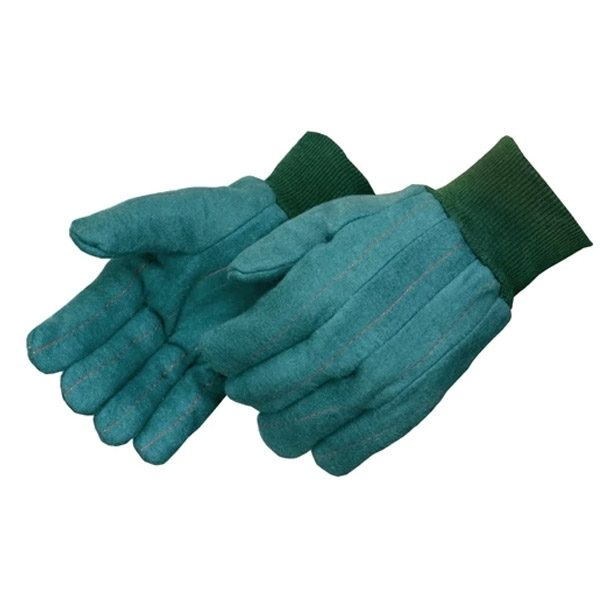 Heavy Weight Green Chore Glove