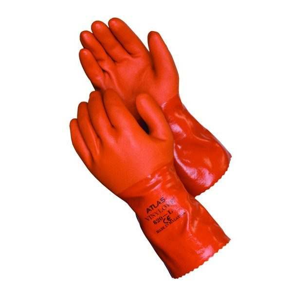 ATLAS 620 Double-Dipped PVC Coated Gloves