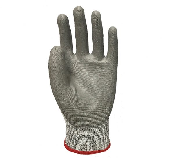Blended Knit Glove with Polyurethane Palm Coating – Cut Level A2