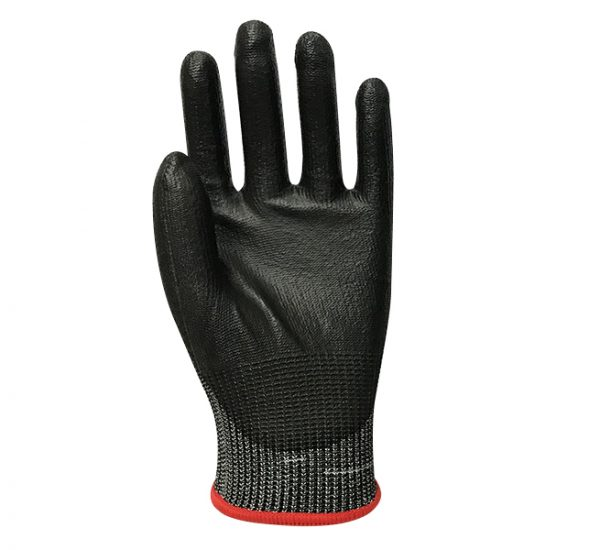 Blended Knit Glove with Polyurethane Palm Coating – Cut Level A5