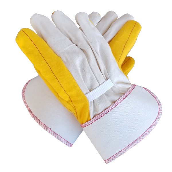 Gold Double Palm with Canvas Back