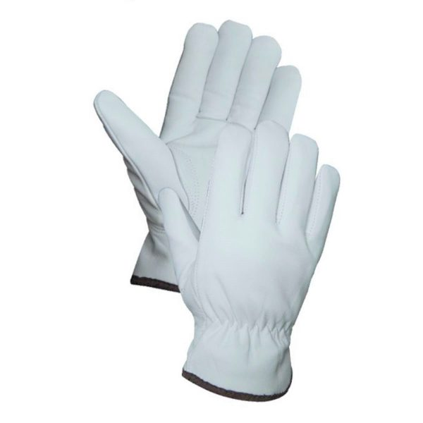 Unlined Grain Leather Drivers Gloves with Keystone Thumb