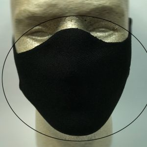 Face mask front view