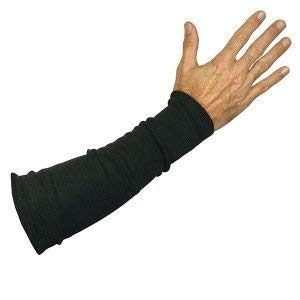 Black Kevlar® Cut & Flame Resistant Arm Sleeve