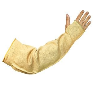 Extra Wide Kevlar® Cut & Flame Resistant Sleeve With Thumb Slot Arm Sleeve