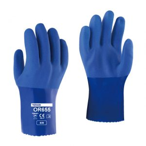 TOWA OR655 PVC Gloves For Heavy Duty