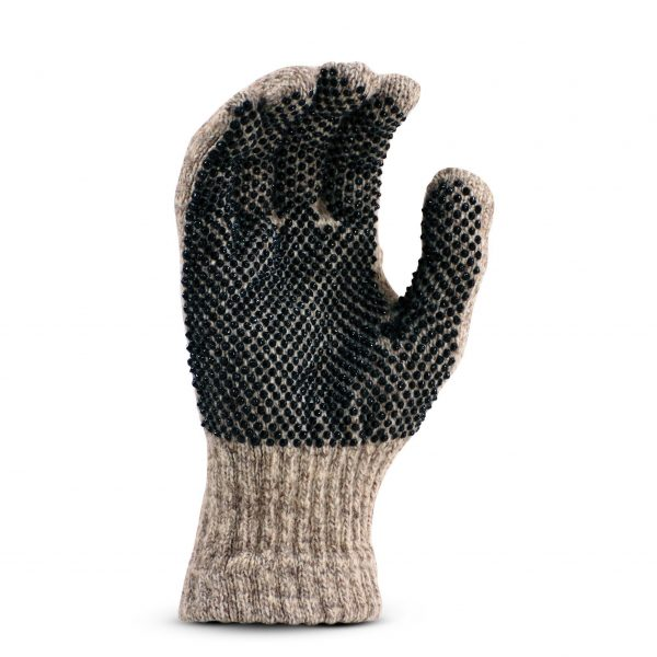 Medium Weight Ragg Wool Seamless Knit Glove