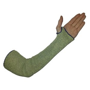 UX18ST Single Ply Cut Resistant Sleeve with Thumb Hole